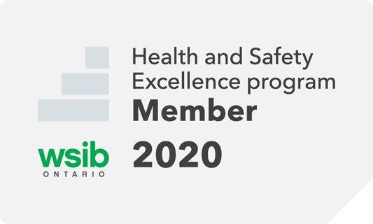 A member of the Health and Safety Excellence program | 2020